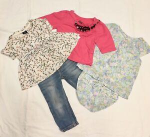 Lot-of-4-Baby-Gap-Summer-tops-Carter-039-s-Jeans-Jeans-Circo-T-shirt-12-18-Months