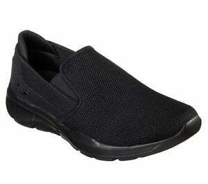 52937 Eww Eww Eww Extra Breit Schwarz Skechers Schuhe Herren