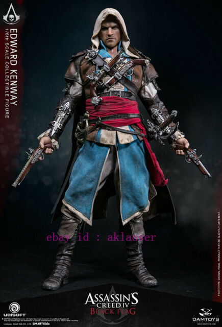 Damtoys 1 6 Dms003 Assassin S Creed Iv Black Flag Edward Kenway