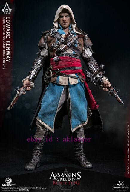 Damtoys 1 6 Dms003 Assassin S Creed Iv Black Flag Edward Kenway