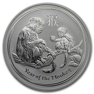 2016 Australian Opal Lunar Series  Monkey Silver Proof Coin sold out at mint