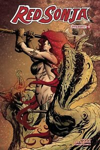 Red-Sonja-17-Mike-McKone-1-10-Variant-Cover-Black-amp-White