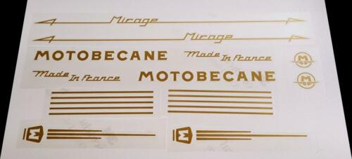 Motobecane Mirage Bicycle Decal Set sku Moto-S110