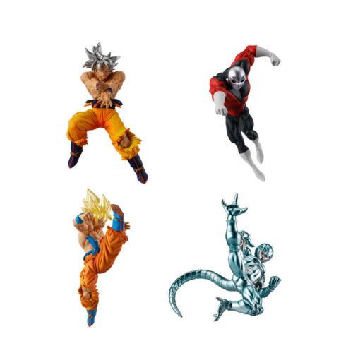 Goku, SSJ Goku, Cooler, Jiren Dragon Ball Super Bandai Mini Figure VS Series 6