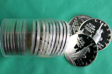 1986 Liberty 90% Silver Dollar PROOF Coin ONLY Full ROLL 20 Coins Ellis Isle SOL