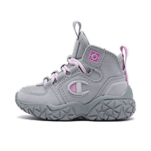 Girls/' Toddler Champion Tank Grid Nubuck Mid Athletic Sneakers Boots Silverstone