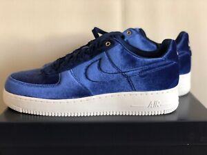 Nike Air Force 1 Low '07 Premium 'Azules Velour' AT4144 400
