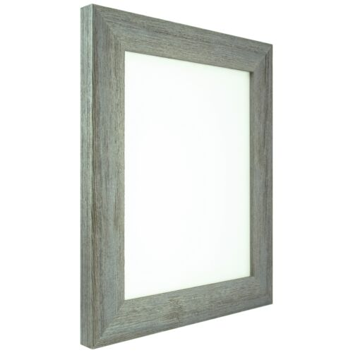 "Craig Frames Barnwood Chic 1.5/"" Rustic Hardwood Picture Frame Shell"