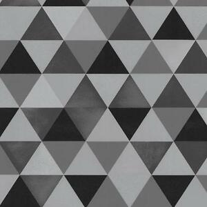 graphics alive modern geometric triangles black and grey wallpaper