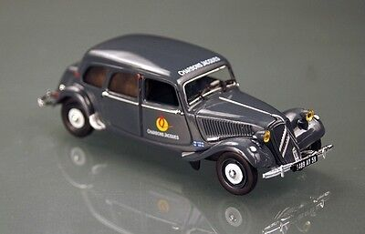 CITROEN TRACTION 11 CV COMMERCIALE Charbons jacques NOREV 1:43