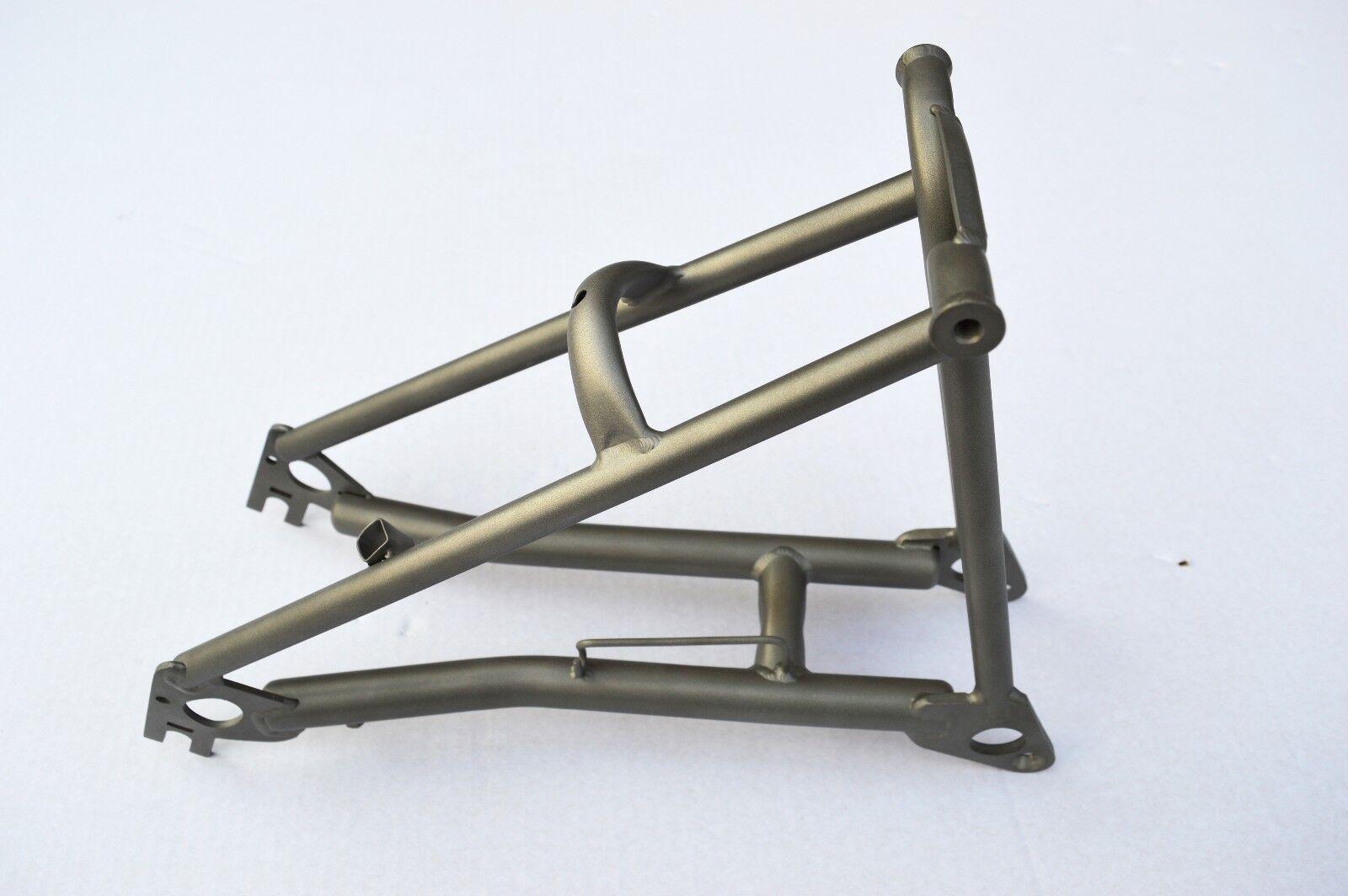 BROMPTON titanium rear frame triangle. Original. Made in UK. NEW