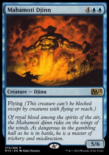 GENIO MAHAMOTI MAHAMOTI DJINN Magic M15 Mint