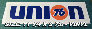 UNION-76-VINTAGE-STYLE-1970-039-s-RACING-DECAL-STICKER-SCCA-NASCAR-DRAG