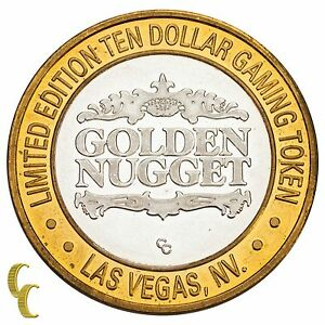 Golden-Nugget-Hotel-Las-Vegas-NV-10-Casino-Gaming-Token-999-Silver-Limited-Ed