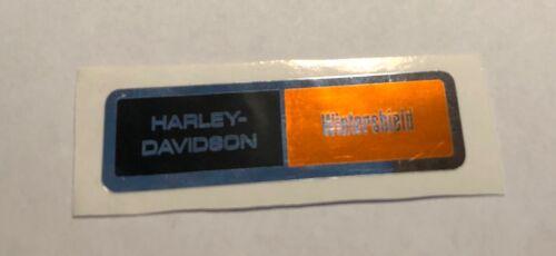 "58RRD-61 WINTER WIND SHIELD /""WINTERSHIELD/"" STICKER for a HARLEY DAVIDSON"
