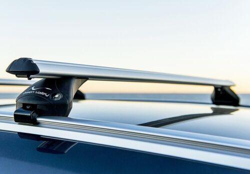 Relingträger Quick Alu für Audi A6 SW 05 bis 11 bis aufliegende Reling