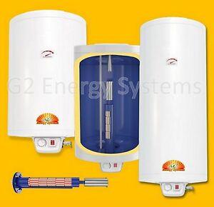 elektro warmwasserspeicher boiler 50 80 100 120 150 200 l liter 2 kw 230 volt ebay. Black Bedroom Furniture Sets. Home Design Ideas