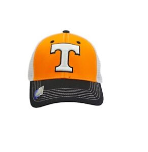 huge selection of 128a7 26f84 Image is loading Tennessee-Volunteers-Hat-Mesh-Trucker-Snapback-Cap-NCAA