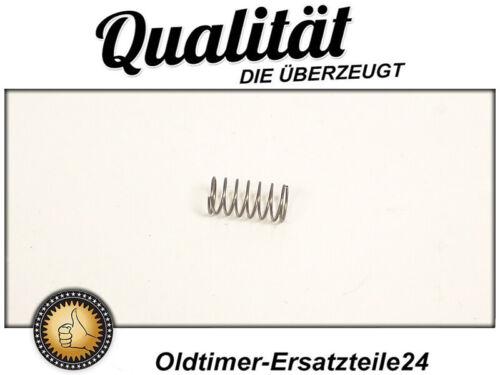 Feder für Ventilnadel in Mercedes W100 W111 W113 M127 M129 M130 Kaltstartventil
