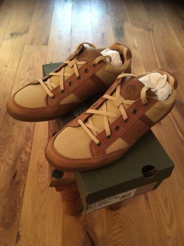 hombre marrón 8 Suela entrenamiento Timberland Zapatillas marrón para de Reino Botas Nuevo Divididas Zapatos Tamaño Unido 6Evnv