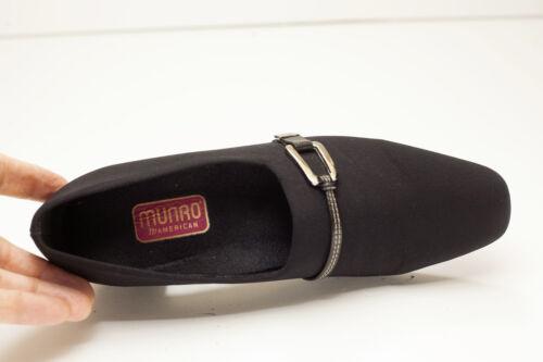 Munro 6 Femme Chaussures American 5 Black Narrow FZfq8nAx