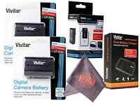 Batteries & Charger Lp-e6 W/ Microfiber Cloth Canon Eos 6d 60d 7d 70d 5d Mark