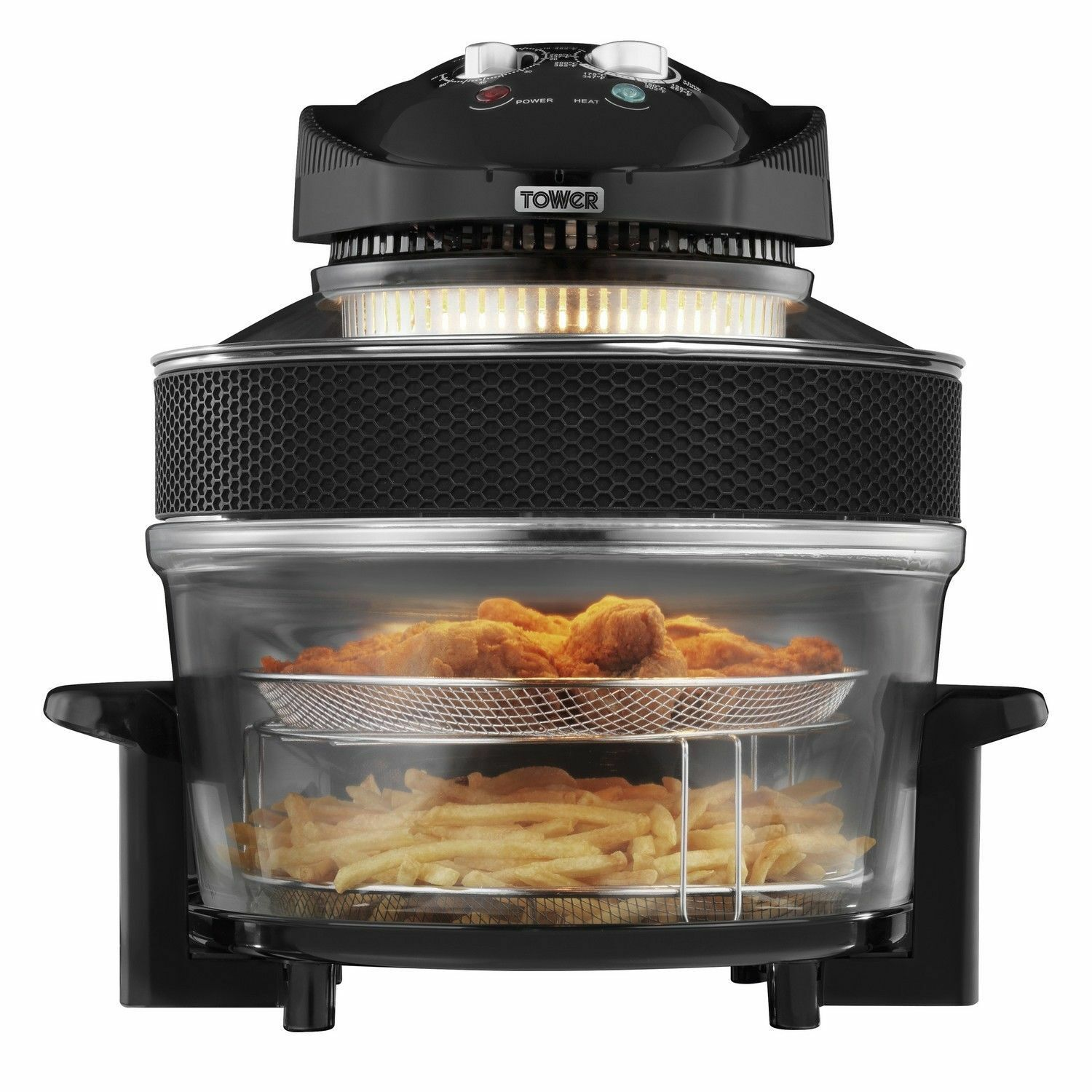New Air Cooker ~ Tower l w airwave low fat air fryer oven oil free