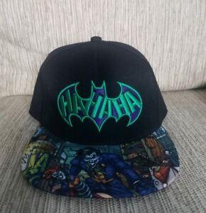 b5ac07cea Details about Dc Comics Batman Joker Hahaha Embroidered Snapback Hat Great  Condition