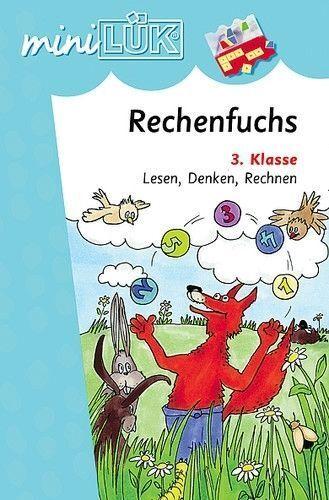 miniLÜK: Der Rechenfuchs: Lesen, Denken, Rechnen 3.Klasse von Vogel, Heinz