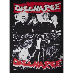 DISCHARGE-Group-Photo-T-Shirt-New-Black-2-Color-XL-PUNK-VARUKERS