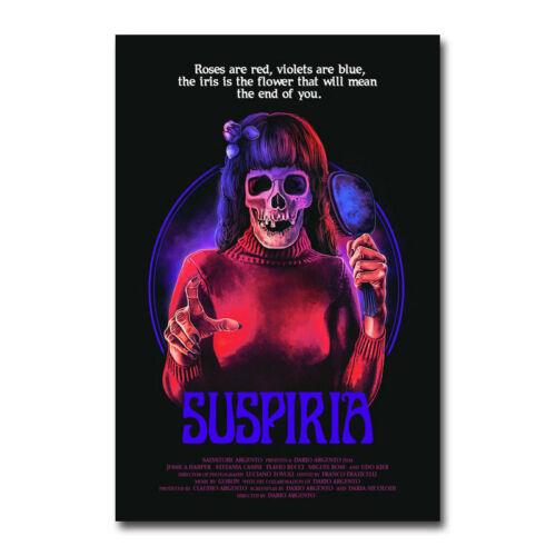 Suspiria Movie Art Canvas Poster 12x18 20x30 inch