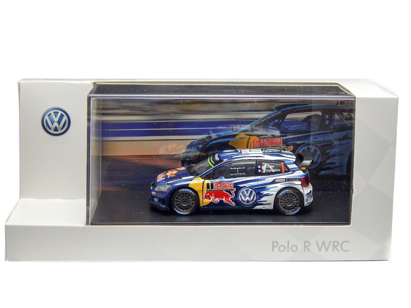 VOLKSWAGEN Polo R WRC rojo Bull 1 43 Rallye Monte Cochelo 2015 bulle Ingrassia  1