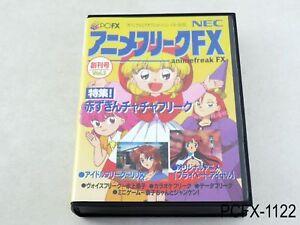 Detalhes sobre Anime Freak Fx Vol 1 Pc-Fx Japonês Importado Do Japão Nec  Volume 1 vendedor dos EUA aberrações B- mostrar título no original