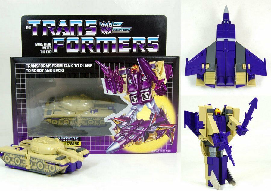 Top Transformers Bliztwing Decepticon G1 REISSUE BRAND IN BOX Spielzeug Kinder