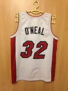 Image is loading NBA-MIAMI-HEAT-BASKETBALL-SHIRT-JERSEY-CHAMPION-SHAQUELLE- c2e2c6f65