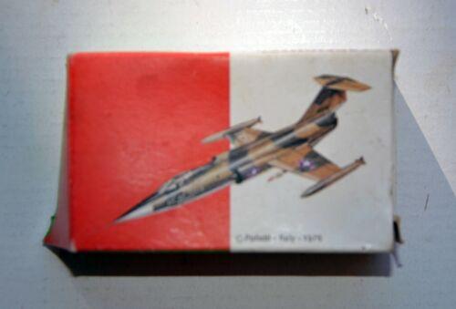 F104 Starfighter Polistil Les Deux Club 33 Scala 1: 200