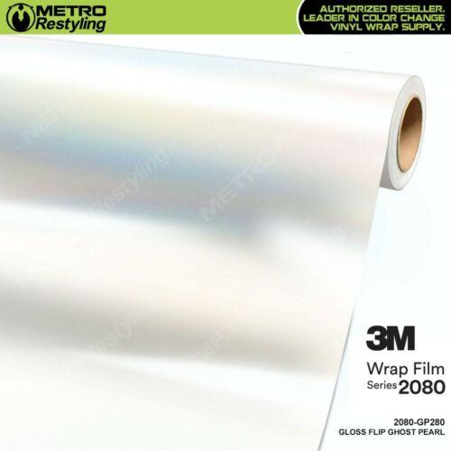 3M 2080 Series GLOSS FLIP GHOST PEARL Vinyl Vehicle Car Wrap Film Roll GP280