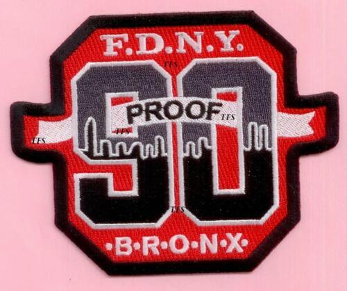 New York City Fire Dept Engine 90 Patch