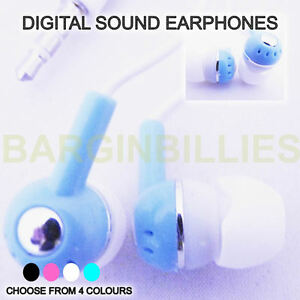 Details about NEW Digital Truetone Earphones Ideal For Music MP3 MP4  Players Comfy Soft Fit