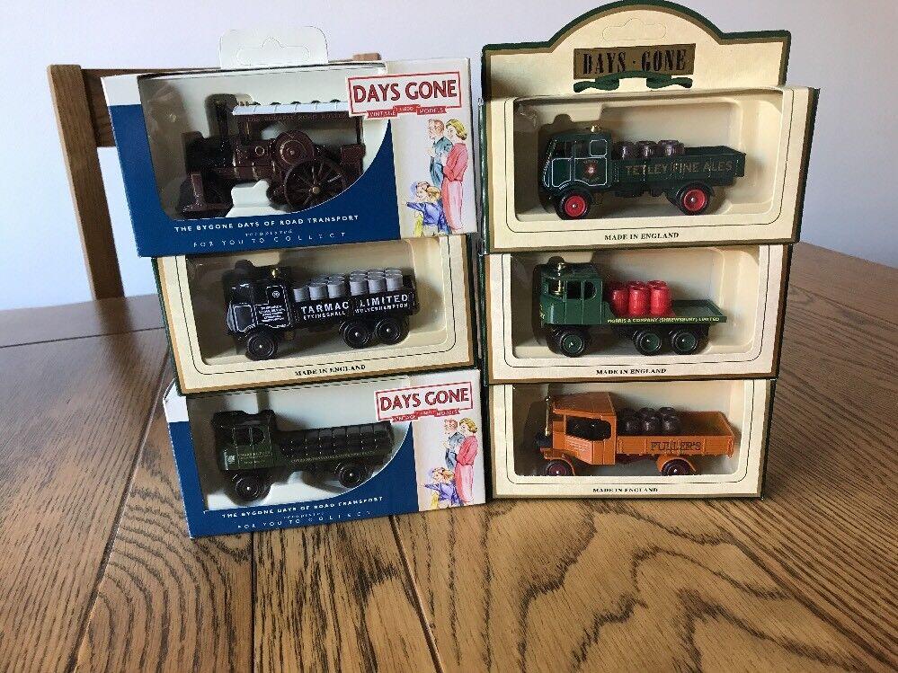 Lledo Days Gone Steam Wagon Collection.