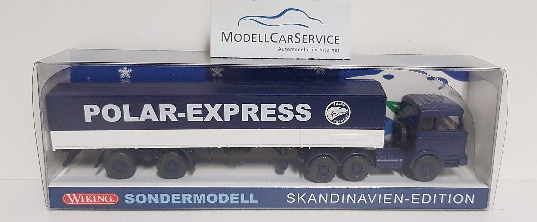 Wiking Spécial Modèle 1 87  Mercedes-Benz LPS 2232 planches-SZ  Pôle express