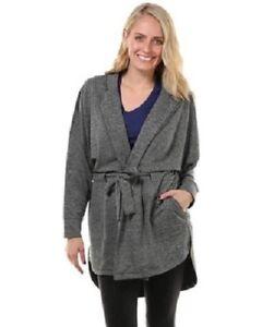 Placid Jacket Black/gray Competent Nwt Soybu Large Elegant Appearance