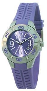Kahuna-KSR-0011L-Ladies-Purple-Rubber-Strap-watch