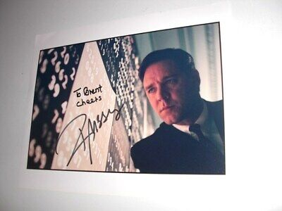 RUSSELL CROWE A BEAUTIFUL MIND 8X10 COLOR PHOTO