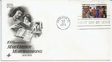 US Scott #1468, First Day Cover 9/27/72 Chicago Single Mail Order