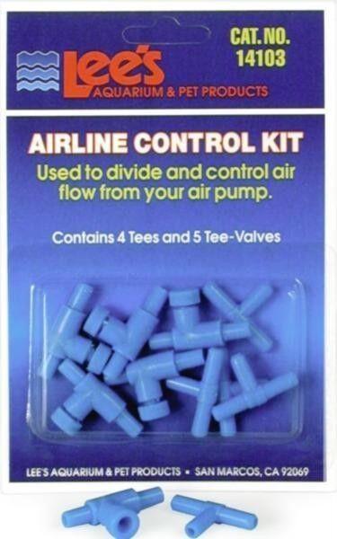 Lee's Fish Aquarium Airline Valve Control Kit #14103