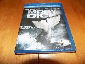 MOBY-DICK-William-Hurt-Ethan-Hawke-Hermann-Melville-Blu-ray-DVD-Combo-NEW