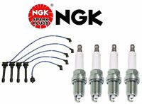 Honda Prelude H22 Ngk Wires-he65 Japan Blue W/ Ngk Platinum Plugs-zfr5fgp on Sale