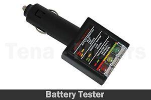 12v batterie voiture alternateur analyseur testeur prise allume cigare 74060 ebay. Black Bedroom Furniture Sets. Home Design Ideas