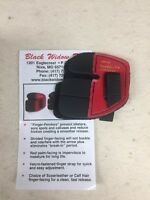 Wilson Black Widow Leather Split Finger Shooting Tab Right Hand Medium